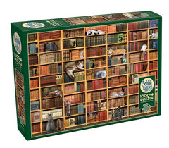 The Cat Library 1000 piece puzzle