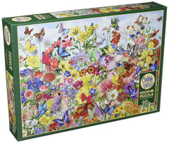 Cobble Hill 1000 Piece Jigsaw Puzzle Butterfly Garden