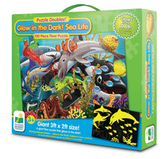 Glow In The Dark Under the Sea Puzzle 100 piece
