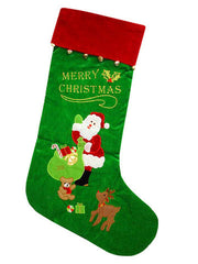 Christmas Stocking  with bells