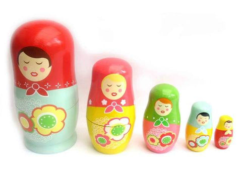 Nesting Dolls Irina and friends