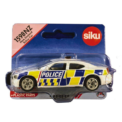 New Zealand Police Car Siku 1598