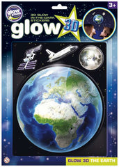 Glow Stars Glow 3D The Earth