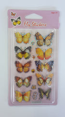 kidz-stuff-online - 3D Butterfly Stickers