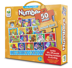 Number Jumbo Floor Puzzle The learning Journey