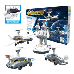 kidz-stuff-online - 4 in 1 Solar Power Pace Exploration Fleet