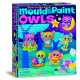 Glow In The Dark Mould & Paint Owls