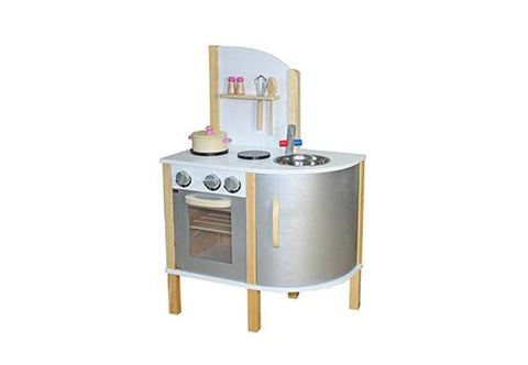 Wooden Kitchen silver with  accessories - PRE ORDER