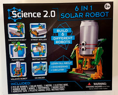 kidz-stuff-online - 6 in 1 Educational Solar Robot Kit