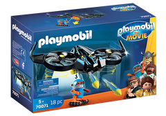 PLAYMOBIL:THE MOVIE Robotitron with Drone 70071
