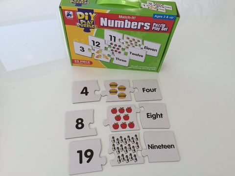 Match It Numbers Puzzle