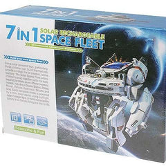 kidz-stuff-online - 7 in 1 Solar Rechargable Space Fleet
