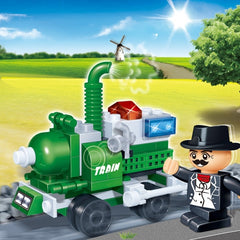 kidz-stuff-online - Banbao Gift Series Steam Engine - 8042