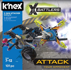 K'nex X Battlers X-Saw Attacker Set