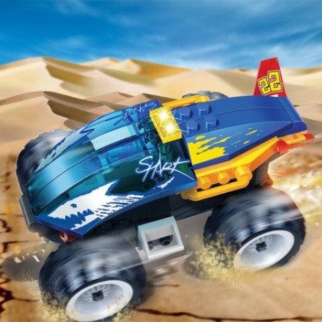 Shark Pull Back Racer - 8602