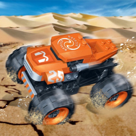 Monster Pull Back Racer - 8605