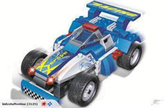 kidz-stuff-online - Blue Eagle Racing Car with Pull Back 8612