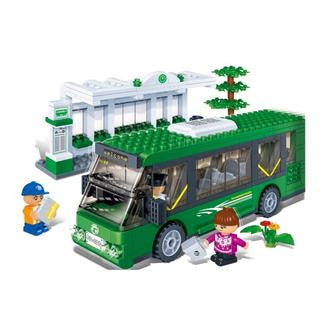 Shuttle Bus Set Banbao Blocks 8768