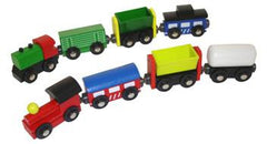 8 piece train set