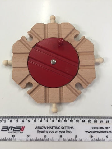 Train Turntable large 8 point