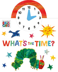 What's the Time? Board book