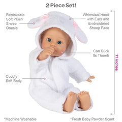 Adora doll bath baby sheep