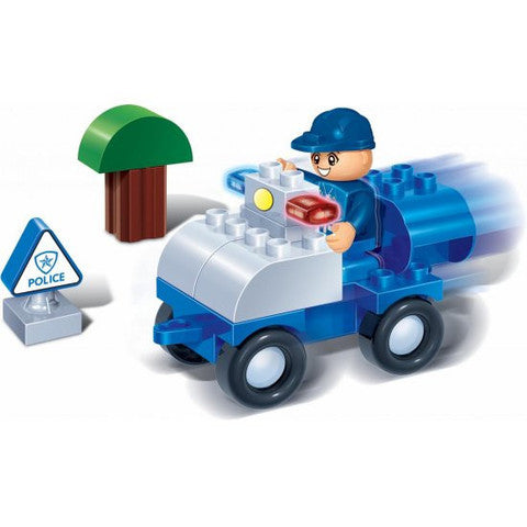 Young Ones 9 Piece Police Set - 9605
