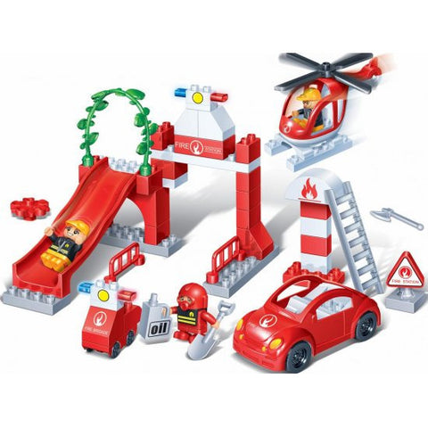 Young Ones 53 Piece Fire Dept Set - 9631