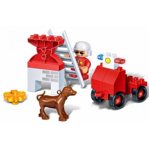 Young Ones 9 Piece Fire Dept Set - 9635