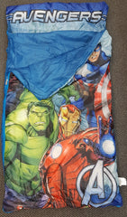 Avengers Sleeping Bag - in Built Pillow