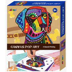 Avenir Canvas Pop Art Dog