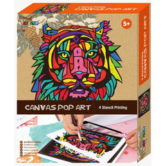 Avenir Canvas Pop Art Lion