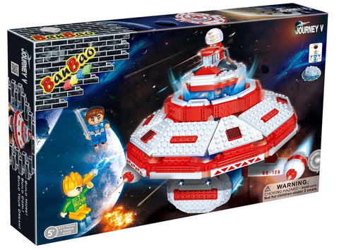 UFO Space Ship Banbao 6402