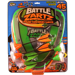 Battle zartz throwing darts game