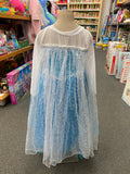 Frozen Dress up with cape attached long sleeve