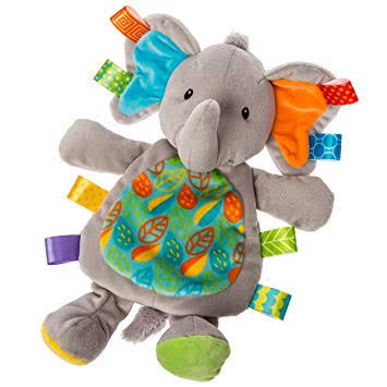 Taggies Little Leaf Elephant tag comforter