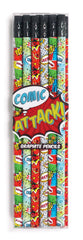 kidz-stuff-online - Ooly Comic Attack Graphite Pencils