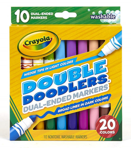 Crayola Double Doodlers Dual Ended Markers