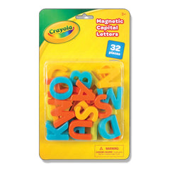 Crayola Magnetic Capital Letters 32 Pieces