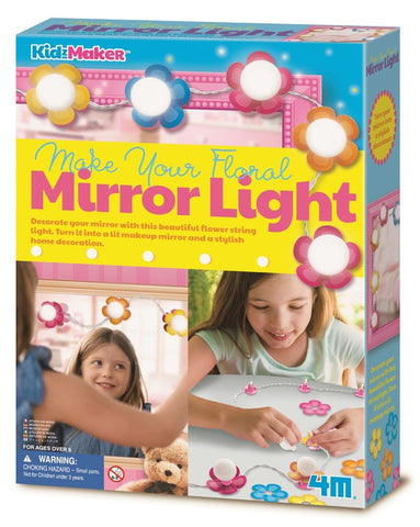 Floral Mirror Light DIY