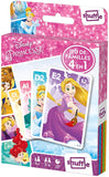 Disney Princess 4 in 1 Shuffle Card Games