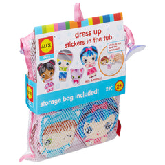 kidz-stuff-online - ALEX Bath Dress Up Stickers in the Tub