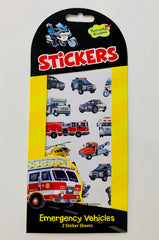 kidz-stuff-online - Stickers Emergency Vehicles