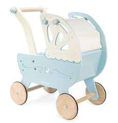 kidz-stuff-online - Wooden doll pram - Le toy van