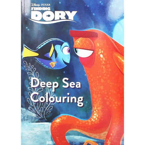 Finding Dory Deep Sea Colouring