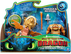 Fishlegs and Meatlug How to Train Your Dragon The Hidden World