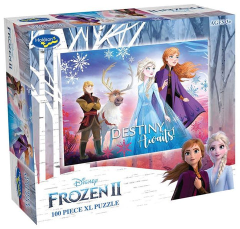Frozen 2 Destiny Awaits 100 Piece Puzzle