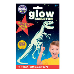 kidz-stuff-online - Glow in Dark Dinosaur T Rex Skeleton