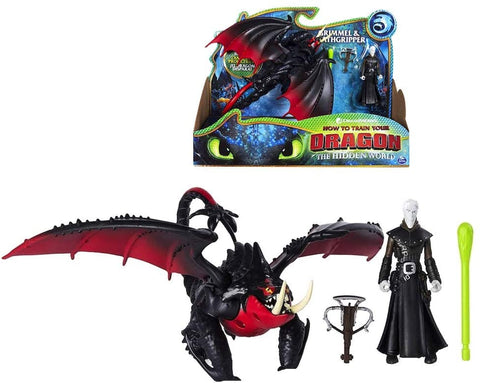 Grimmel and Deathgripper How to Train Your Dragon The Hidden World
