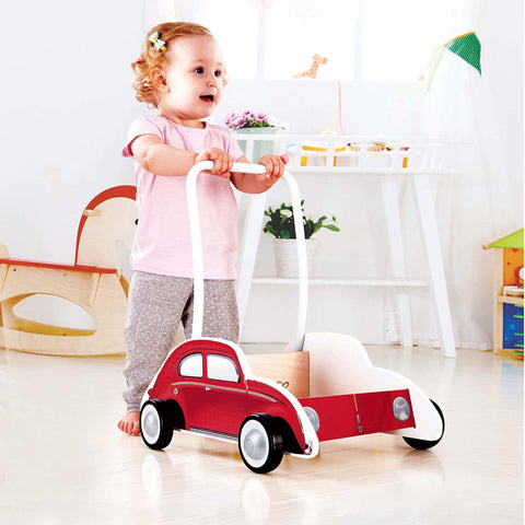 Beetle Walker Hape red